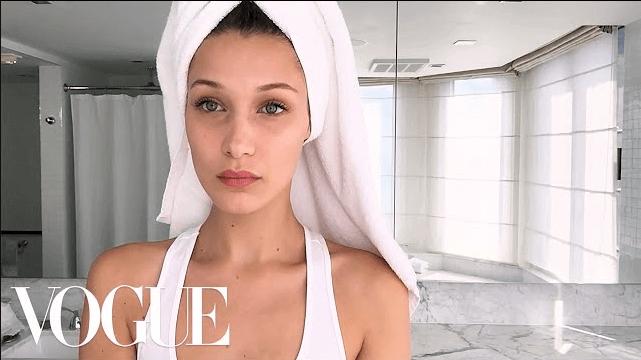 Bella Hadid Vogue Magazine Inspired Makeup