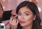 Kylie Jenner's eyelashes Inspired Makeup