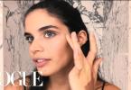 Victoria's Secret Model Sara Sampaio's Inspired Makeup