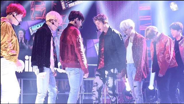 BTS Performance Live At Dick Clark's New Years