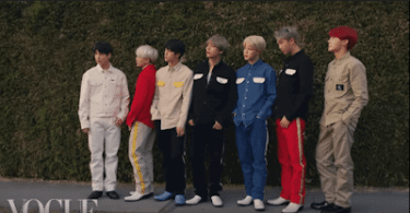 BTS Are Taking on L.A in Vogue Magazine