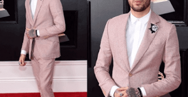Best Dressed Male At The Grammy Awards