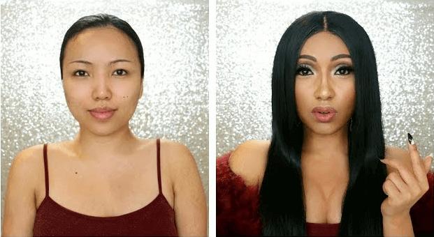 Cardi B's ELLE inspired Makeup