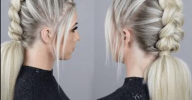 Mohawk Dutch Braid Hairstyle Tutorial