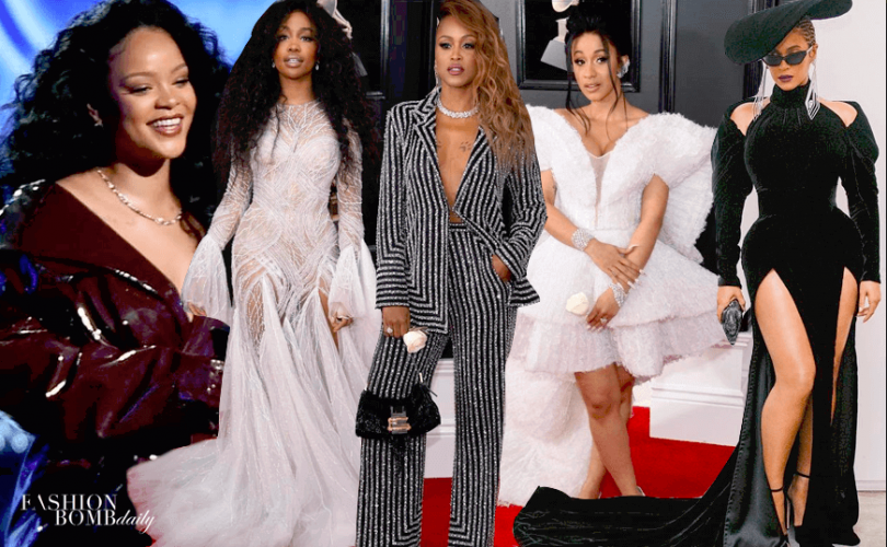 Top 5 Best Celebrity Aress The Grammy Awards