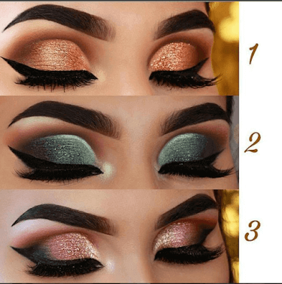 How To Create This Rose Glam Eyeshadow Look