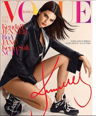 Kendall Jenner's Vogue Magazine Makeup Look