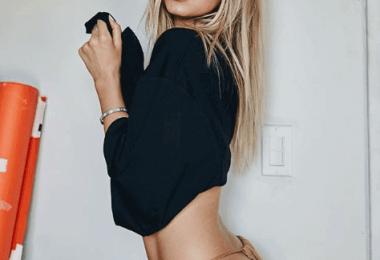 Baskin champ the new girlfriend of justin bieber Makeup Look tutorial
