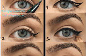 Let s Create In 5 Steps This Perfect Winged Eyeliner Tutorial Look