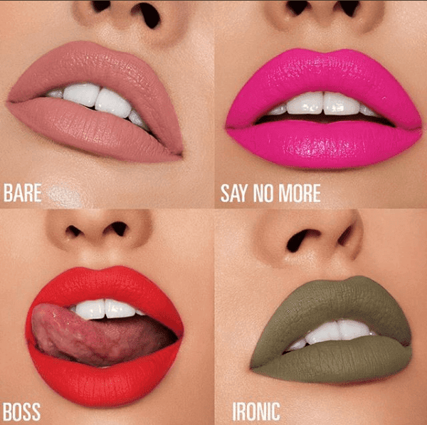 Kylie jenner's New Lipstick Collection inspired by my Stormi Makeup Look
