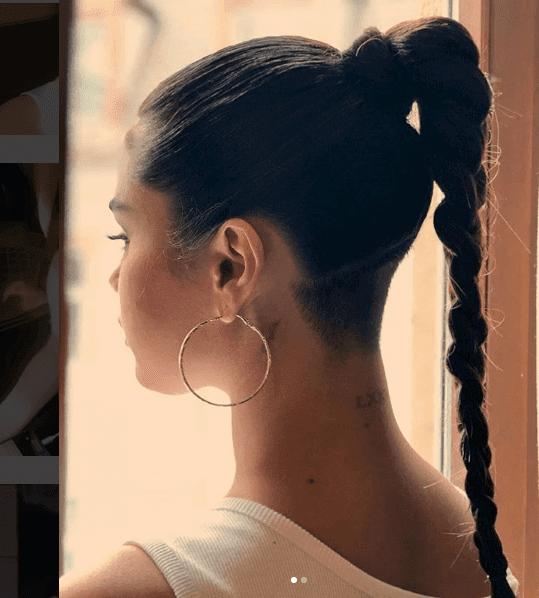 Selena Gomez's New Shaved Head Makeup Look Tutorial