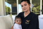 Kylie Jenner Spy With Her Little Baby Stormi Showing Off Her Freckles